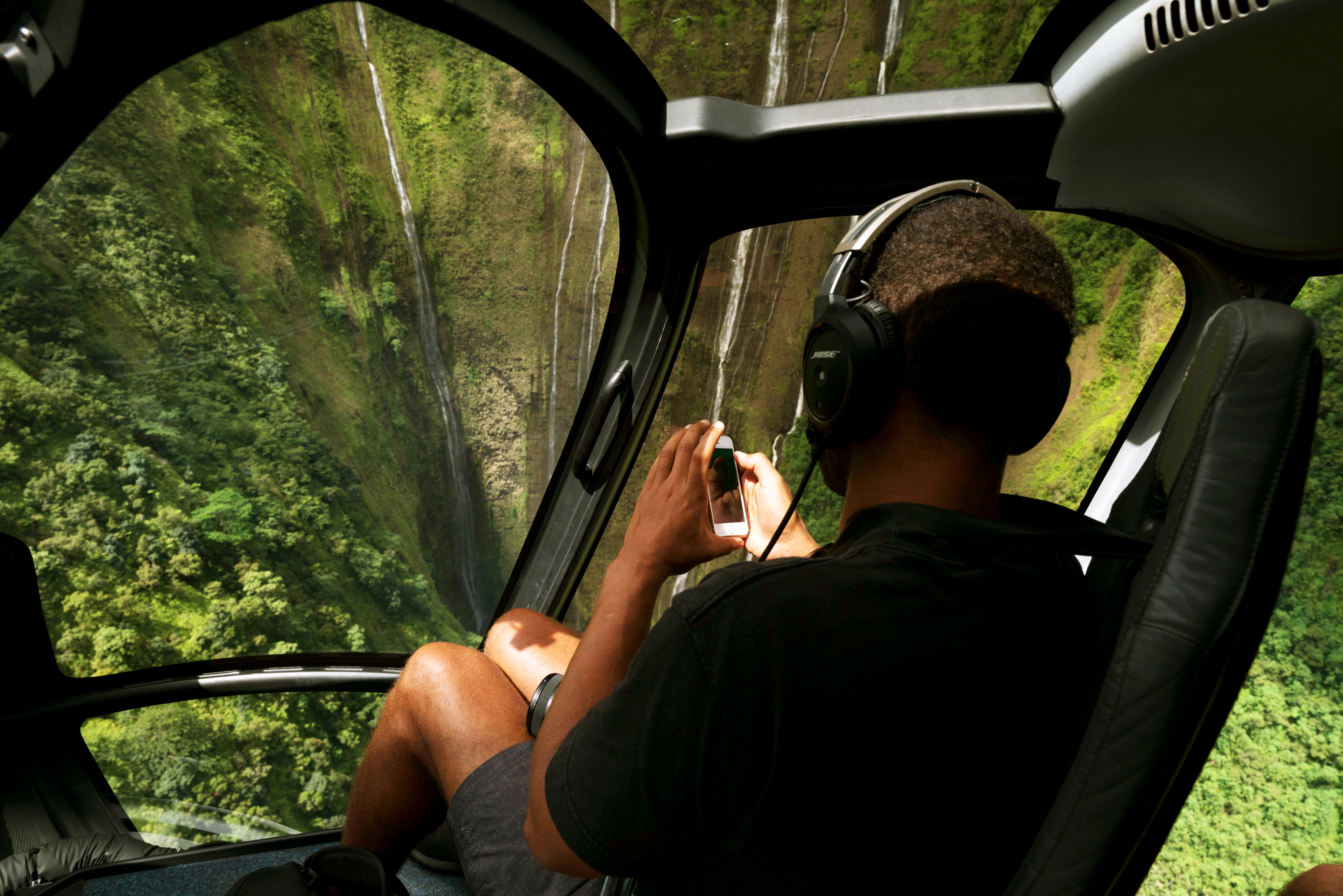 Helicopter tours on the Island of Hawaii