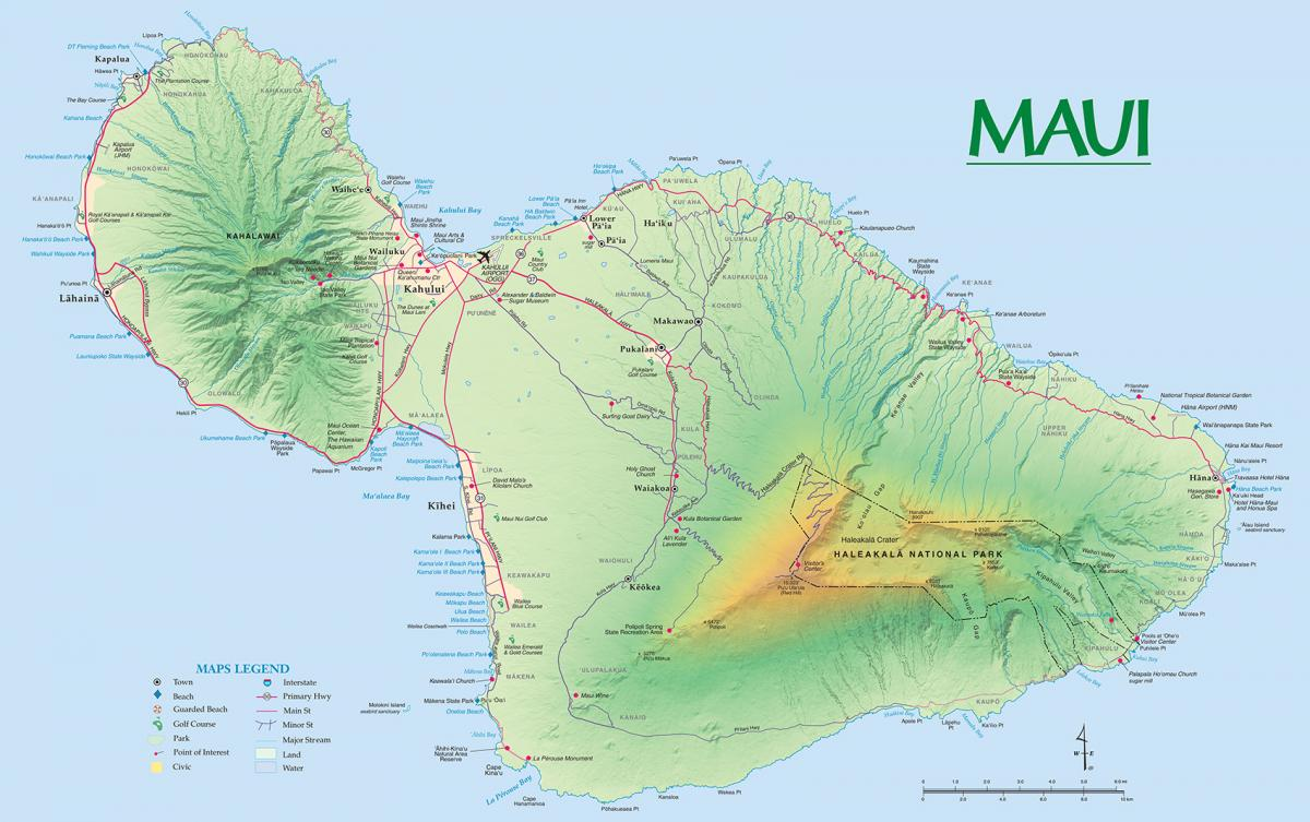 Maui Maps | Go Hawaii