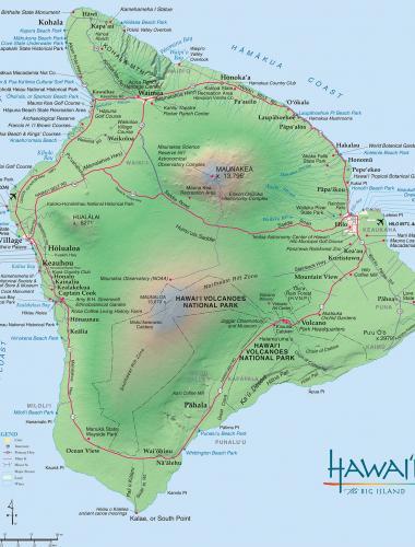 Hawaii Big Island Travel Info Vacation Tips Go Hawaii - Us map including hawaii