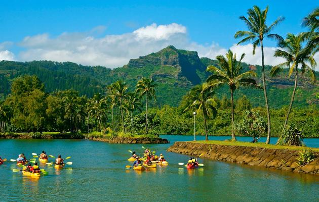 Featured Kayaking Location: Wailua River