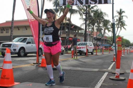 Happy finisher at last year's race