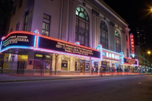 Closing night film at Hawaii Theater Center.