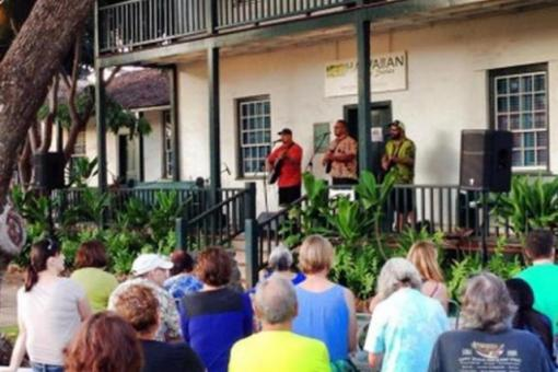 Hawaiian Music Series concert at Baldwin Home Museum in Lahaina