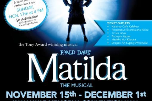 "HCT Presents ""Matilda the Musical"""