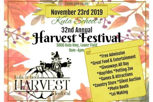 Kula Harvest Festival