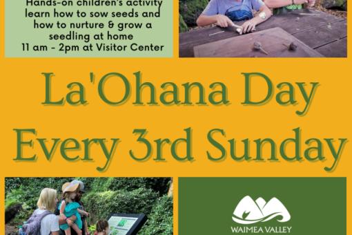 la 'ohana day at waimea valley