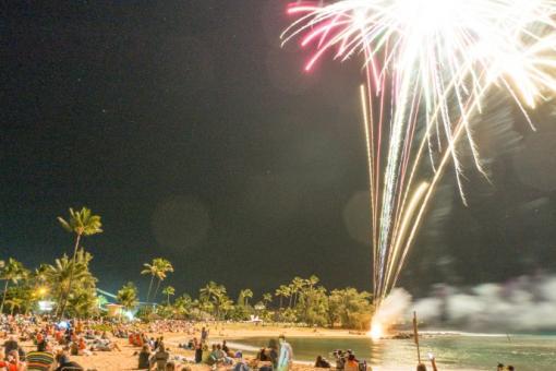 New Year's Eve @ Poipu Beach Park