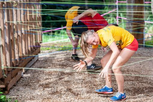 Obstacles along the route will be fun and challenging.