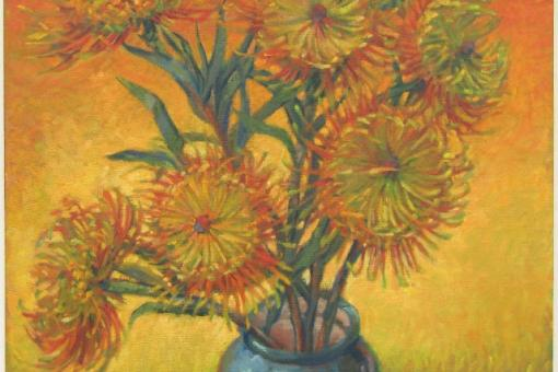 Vincent's Protea by SOKO artist Mark Martel