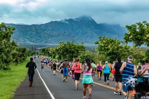 The Kauai Marathon and Half Marathon