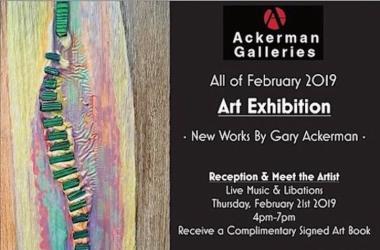 Ackerman Art Exhibit Reception