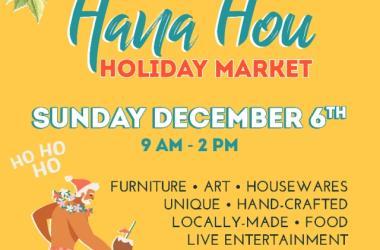 Hana Hou Holiday Market!