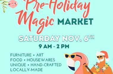 Aloha Home Market - Pre-Holiday Magic Market