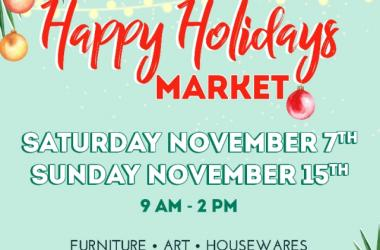Happy Holidays Market!