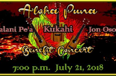Aloha Puna Benefit Concert
