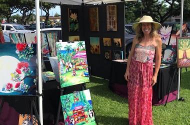 Art of Lahaina Arts Society on Display