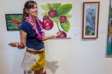 Art with Aloha: Talk Story & Kapa Demonstration - FREE- with Denby Freeland