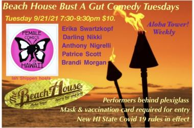 Come laugh with the funniest ladies in HI!!!