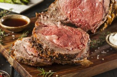 M.A.C. 24/7 Christmas Brunch Buffet featuring Prime Rib