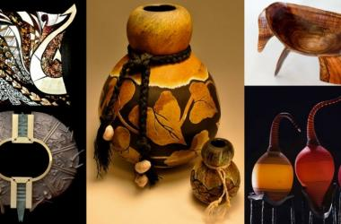 Elemental Design: Contemporary Craft in Glass, Metal & Wood Exhibit