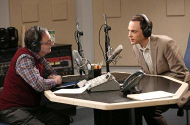 "Ira Flatow as himself on ""The Big Bang Theory"""