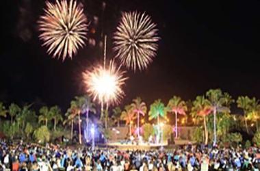 Waikoloa Bowl Fireworks
