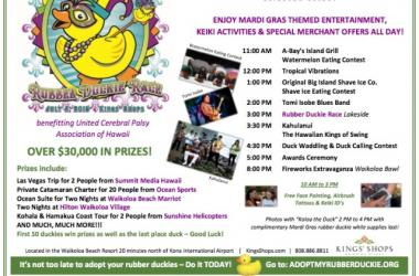 28th Annual Great Waikoloa Rubber Duckie Race