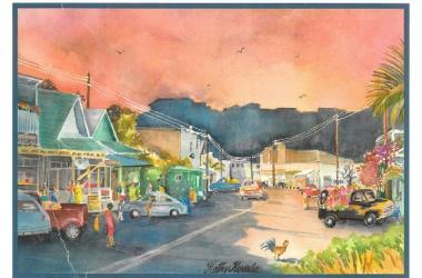 Historic Hanapepe by Kathy Kovala