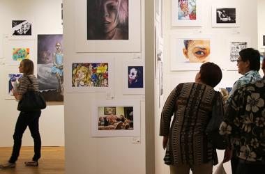 2017 Hawaii Regional Scholastic Art Awards exhibit