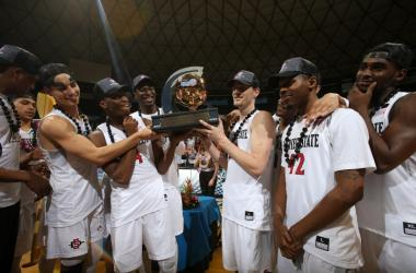 The San Diego State Aztecs Claim the 2016 Trophy!