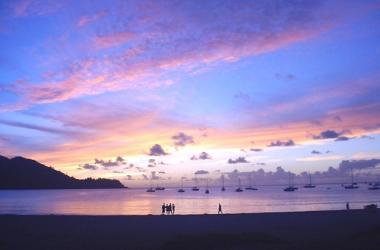 Peaceful Hanalei sunset