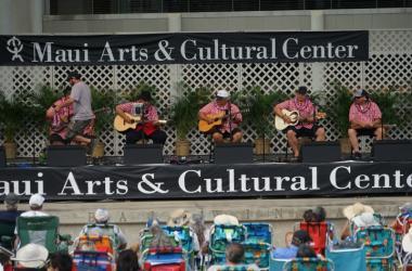 Hawaiian Group Ola Hou Performs At the 2018 Festival