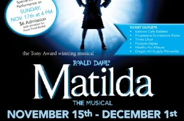 "HCT Presents ""Matilda the Musical"""