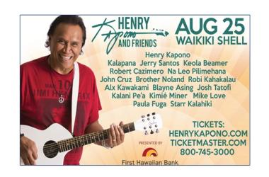 Henry Kapono and Friends