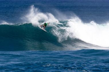 Barron Mamiya is a regular standout in competition along the North Shore of Oahu