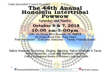Honolulu Intertribal Powwow (44th Annual)