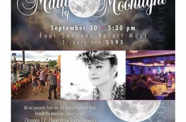 "HopeFest Maui Gala presents ""Maui by Moonlight"" ft. Napua Greig"