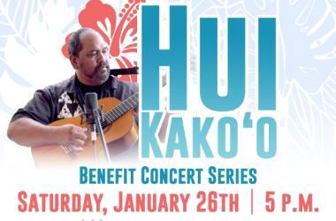 Hui Kakoo Benefit Concert Series Featuring Kawika Kahiapo