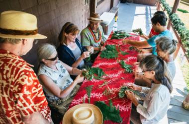 Hula Art At Kilauea: Aloha Friday Program
