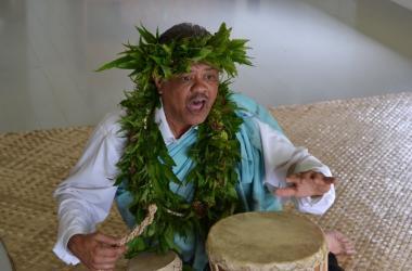 Kumu hula Kaho'okele Crabbe