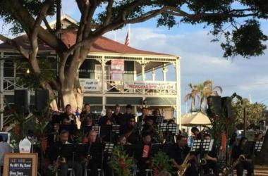 Jazz Orchestra performs at 4th of July in Lahaina