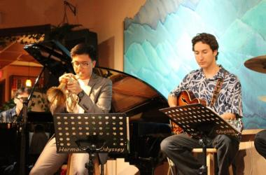 Prem Brosio and Friends performing