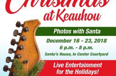 Keauhou Shopping Center Celebrates Christmas at Keauhou