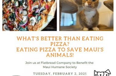 Maui Humane Society Beneficiary Night Hosted by Flatbread Company