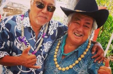 Brother Noland and Grammy Award Winner George Kahumoku, Jr.