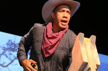 """Moses Goods in """"Paniolo - Stories and Songs from the Hawaiian Cowboy"""""""