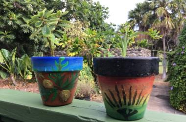 Mother's Day Pot Painting with Kaili Kosaka