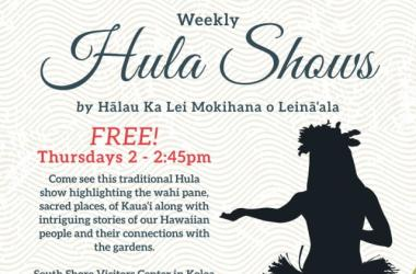 NTBG Free Weekly Hula Show