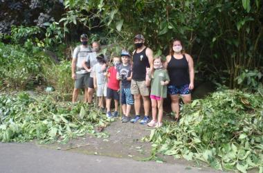 Family Volunteer time