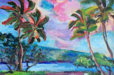 Paradise Studio Tour, Acrylic by Margaret Stanton